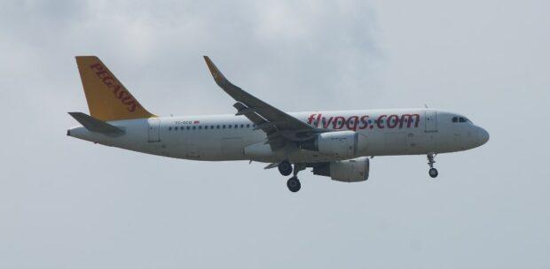 Pegasus'un Yeni Uçağı Teslim Edildi