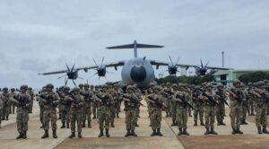 Çorlu'dan Romanya'ya Askerler İntikal Etti