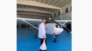 Uçak İle Sipariş Götüren Kebapçı