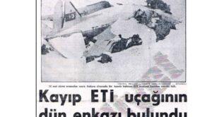 3 Şubat 1964 – THY TC-ETİ Kazası – Ankara