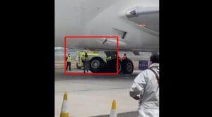 Boeing 787'nin İniş Takımı Kırıldı