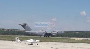 Katar Askeri Nakliye Uçakları Çorlu Atatürk Havalimanı'nda