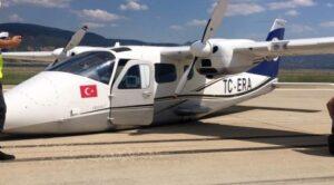 Eğitim Uçağı Gövde Üzeri İniş Yaptı