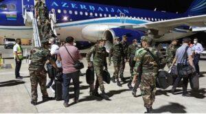 Azerbaycan'dan Uçakla 250 Asker Daha Geldi