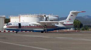 Yangın Söndürme Uçağı Motor Arızası Yaptı Dalaman'a İndi