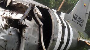 Kolombiya'da DC-3 Tipi Uçak Düştü