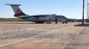 İran'lı Dev Kargo Uçağı Çorlu Atatürk Havalimanı'nda