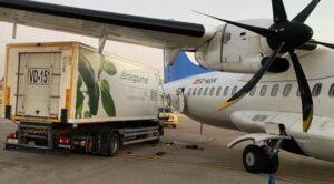 Yer Aracı Yolcu Uçağı İle Çarpıştı