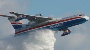 Rus Yangın Söndürme Uçağı Ülkesine Dönüyor