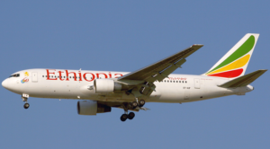 Etiyopya Havayolları Uçağı Çorlu'ya Geldi