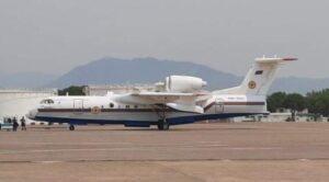 Azerbaycan'dan Yangın Söndürme Uçağı Geldi