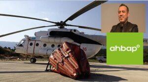 Ahbap Derneği'nin Kiraladığı Helikopter Geliyor