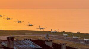 Pist Çatladı Uçaklar Trabzon Havalimanı'na İnemedi