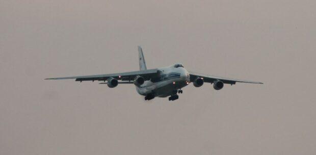 Dev Nakliye Uçağı Antonov An-124 Samsun'da