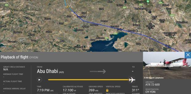 Erzurum Havalimanı'nın İlginç Trafiği