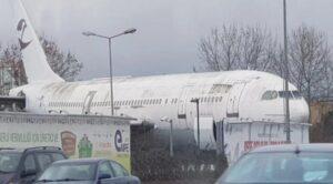 TC-FLM Airbus 300 Uçağının Son Yolculuğu
