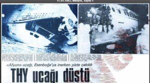Tarihte Bugün – 16 Ocak 1983 – TC-JBR Ankara Kazası