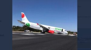 A320'nin Burun İniş Takımı Kırıldı