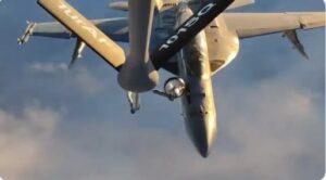 Türk Tanker Uçakları amerikan Savaş Uçaklarına Yakıt Verdi