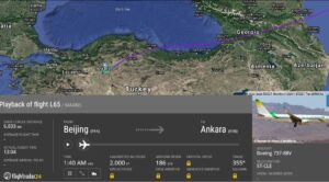 Moritanya Uçağı Bugün de Ankara'ya İndi