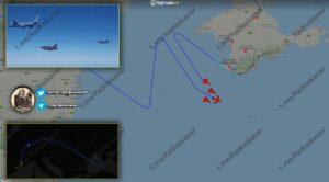 Karadeniz Üzerinde Rus Savaş Uçağı fransız Uçaklarına Eşlik Etti