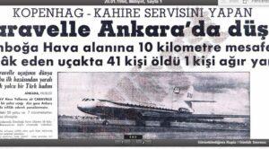 19 Ocak 1960 – Tarihteki İlk Caravelle Kazası – SAS Ankara Kazası