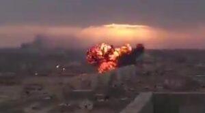 Video – Libya'da Askeri Uçak Düştü