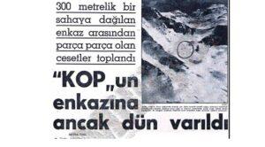 8 Mart 1962 – THY – TC-KOP Kazası
