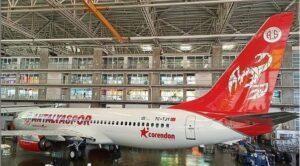 Corendon Antalyaspor İçin Uçak Boyadı