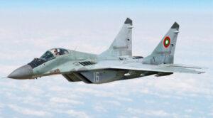 Bulgaristan'da Savaş Uçağı Kayboldu
