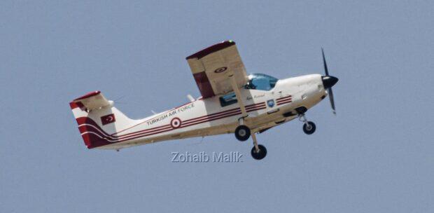 Türk Hava Kuvvetleri'nin Eğitim Uçağı Super Mushak Görüntülendi
