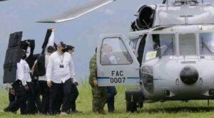 Kolombiya Devlet Başkanının İçinde Bulunduğu Helikoptere Ateş Açıldı
