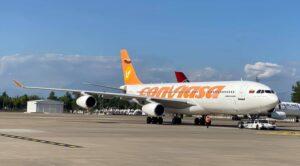 Venezuela Uçağı Antalya Havalimanı'ndaydı