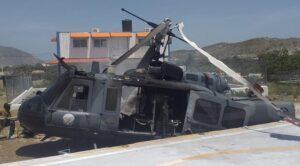 Dominik'te Askeri Helikopter Düştü