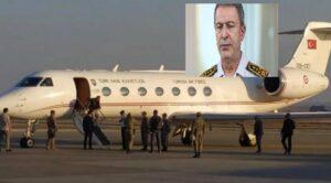 Hulusi Akar'ı Taşıyan Uçak Acil İniş Yaptı