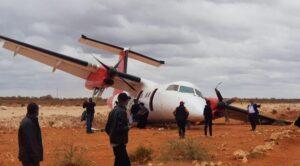 Yolcu Uçağı İnişinde Pistten Çıktı