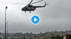 Video – Helikopter İnişinde Kırım Geçirdi