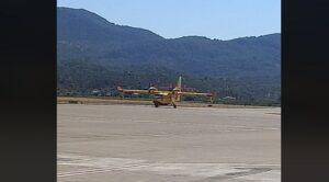 İspanyol Yangın Söndürme Uçakları Geldi
