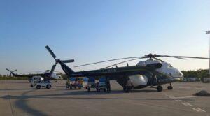 İran'dan İki Yangın Söndürme Helikopteri Geldi