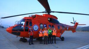 Muğla Büyükşehir Belediyesi İçin Helikopter Kiralandı