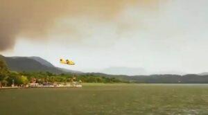 İspanyol Yangın Söndürme Uçağı Köyceğiz de Görevde