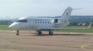İsviçre Hava Kuvvetleri Uçağı Sinop'a Geldi