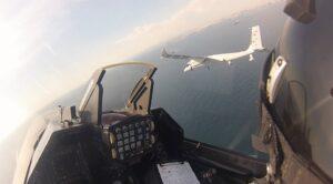 AKINCI Tiha İle F-16 Savaş Uçağının Tarihi Uçuşu