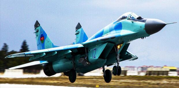 Azerbaycan Mig-29 Teknofest Gösterileri